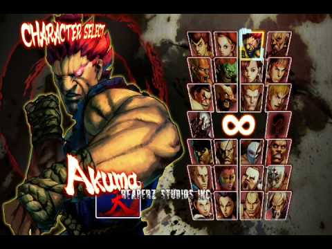 Street Fighter 4 Unlock All Hidden Characters Youtube