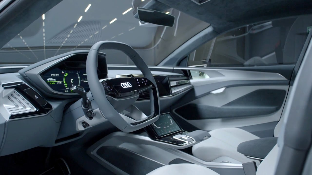 audi e tron sportback concept auto shanghai 2017 interior youtube. Black Bedroom Furniture Sets. Home Design Ideas