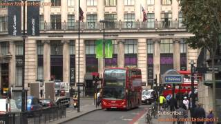 Double Decker Buses In London - youtube.com/tanvideo11