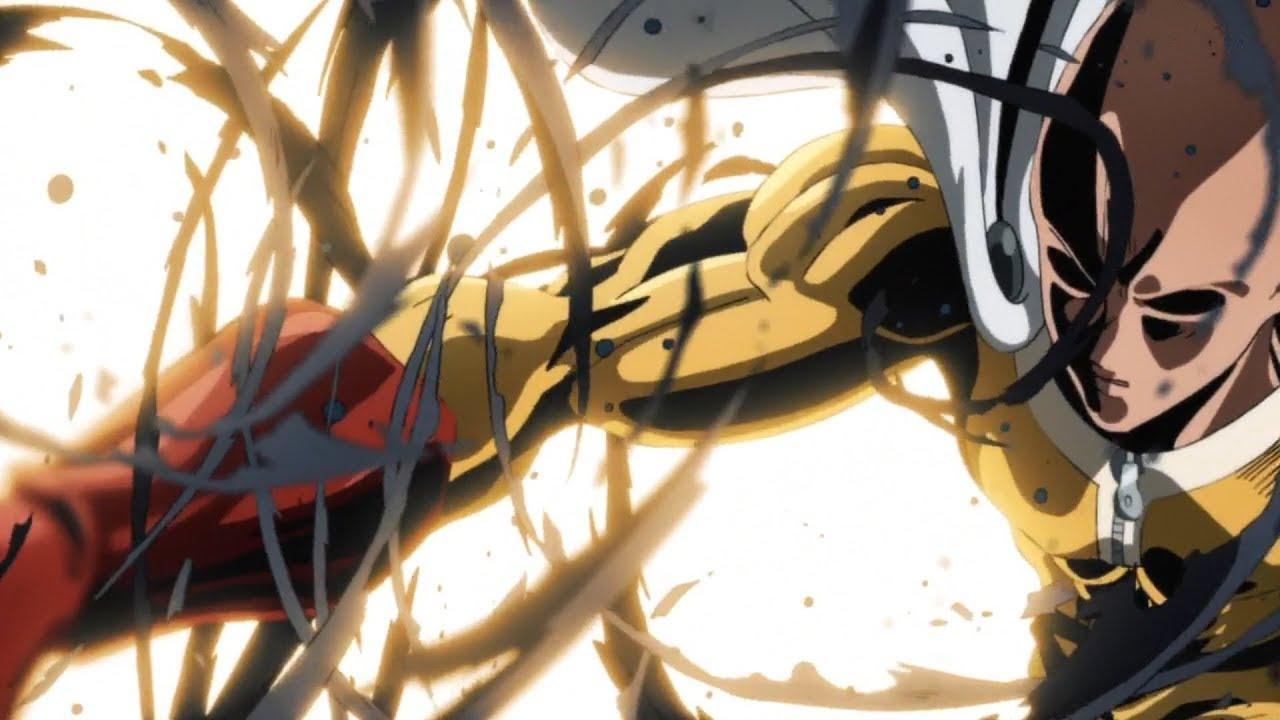 One Punch Man Saitama Vs Nyamuk - Saitama vs Elder Centipede | One Punch Man Season 2 ...