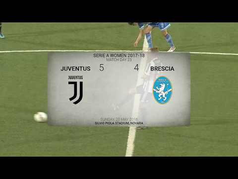 HIGHLIGHTS: Juventus Women vs Brescia | Serie A Play-off | 0-0 (5-4 pens.) | 20.05.2018