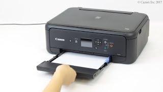 Loading paper: cassette (TS5100 series)