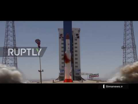 Iran: Tehran successfully launches rocket carrying satellite into space