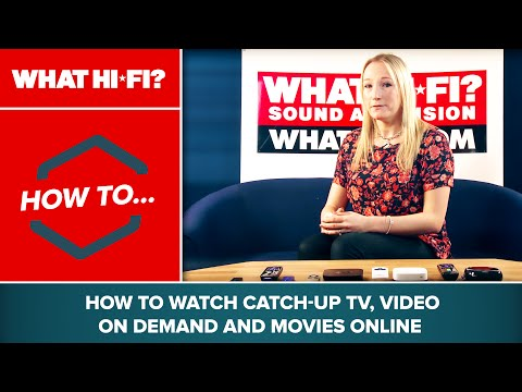 How to watch catch-up TV, video on demand and movies online
