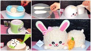 Cách làm bánh kem thỏ 3D siêu hot hiện nay - DieuLinhCake
