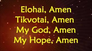 Jonathan Settel - Amen - Lyrics and Translation