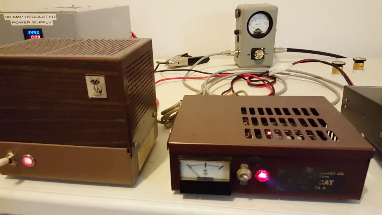 Black Cat JB76B Modulator/ Linear Amplifier.