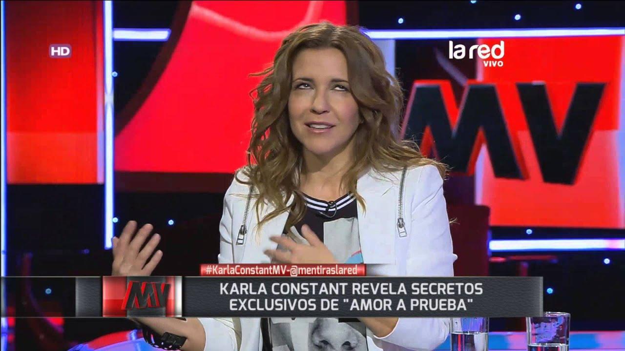 Karla Constant aclara si hubo o no sexo en el reality ...