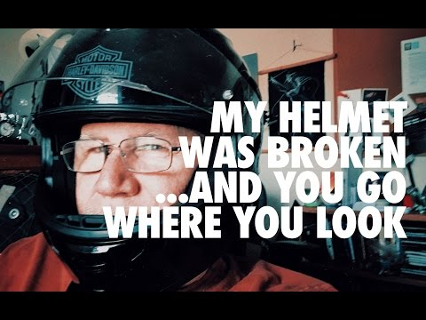 My Motorcycle Helmet Fail