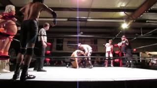 Ethan Blake, Dump Truck, Tyler Blaze vs. Jay Eagle, Kat Daddy, Rocky APW 11/5/2016