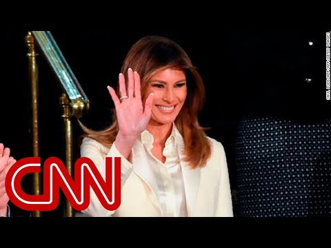 Melania Trump reveals details of first state dinner