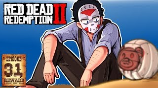 HUGE BANK HEIST & SHIPWRECKED! - RED DEAD REDEMPTION 2 - Ep. 31!