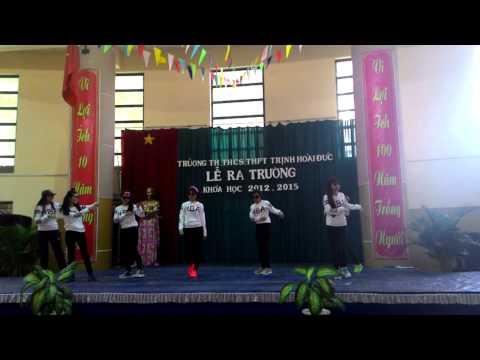 Tiết mục nhảy lớp 12E Trường Trịnh Hoài Đức 2012-2015