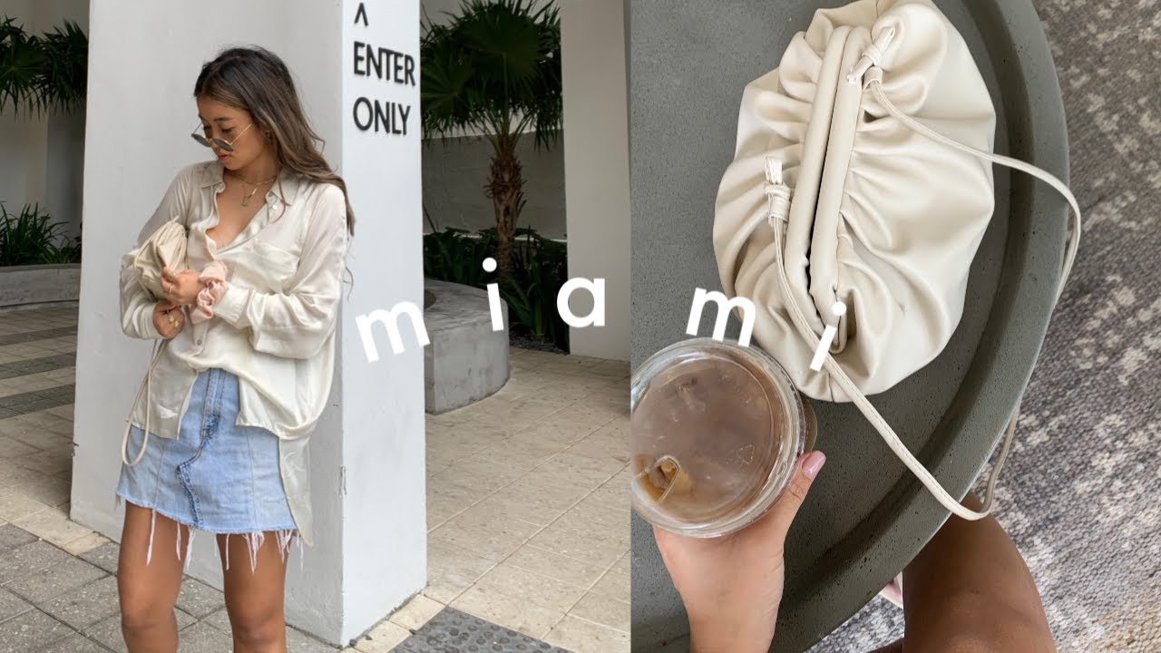 [VIDEO] - WHAT I WORE IN MIAMI | OUTFITS OF THE WEEK 9
