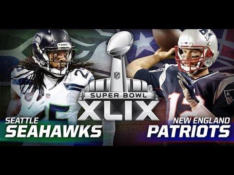 Patriots vs Seahawks Super Bowl XLIX Arizona 2015 (Trailer)