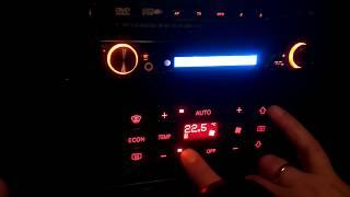 Скрытое меню климат контроля в Audi A4 b5