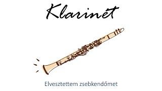 Hangszer ovi - Elvesztettem zsebkendőmet (klarinét) / Hungarian children song (folk)