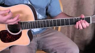Bob Seger Inspired Easy Acoustic Song Guitar Lesson - Easy Songs on Guitar