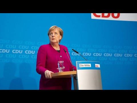 Merkels Rückzugs-Rede im