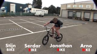 Game of BIKE: Stijn Hens, Arno De Groof, Serdar Yildiz and Jonathan Lauwers