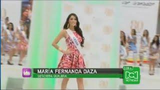 La llegada de las Reinas a Cartagena / Miss Colombia 2014-2015