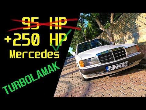 Türkiyenin ilk Mercedes 190D Turbo OM605 Projesi