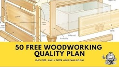 Woodworking Free Plans - Get 50 Free Woodworking Plans - You MUST See 👍 💯