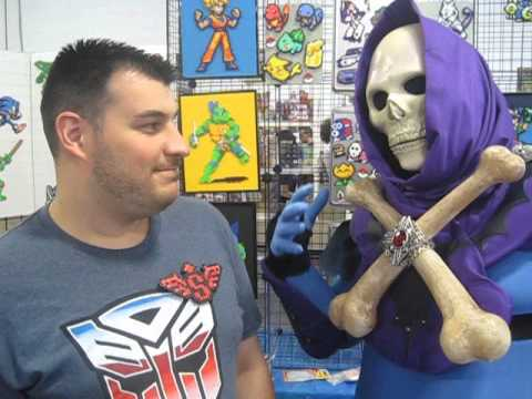 Unemployed Skeletor talks with Chris from Sprites of Passage