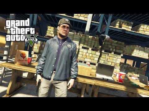 POLICE DRUG BUST!! (GTA 5 Mods)
