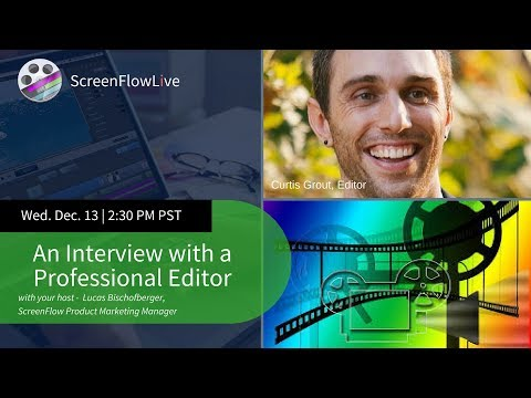 Interview with a Professional Editor - Curtis Grout