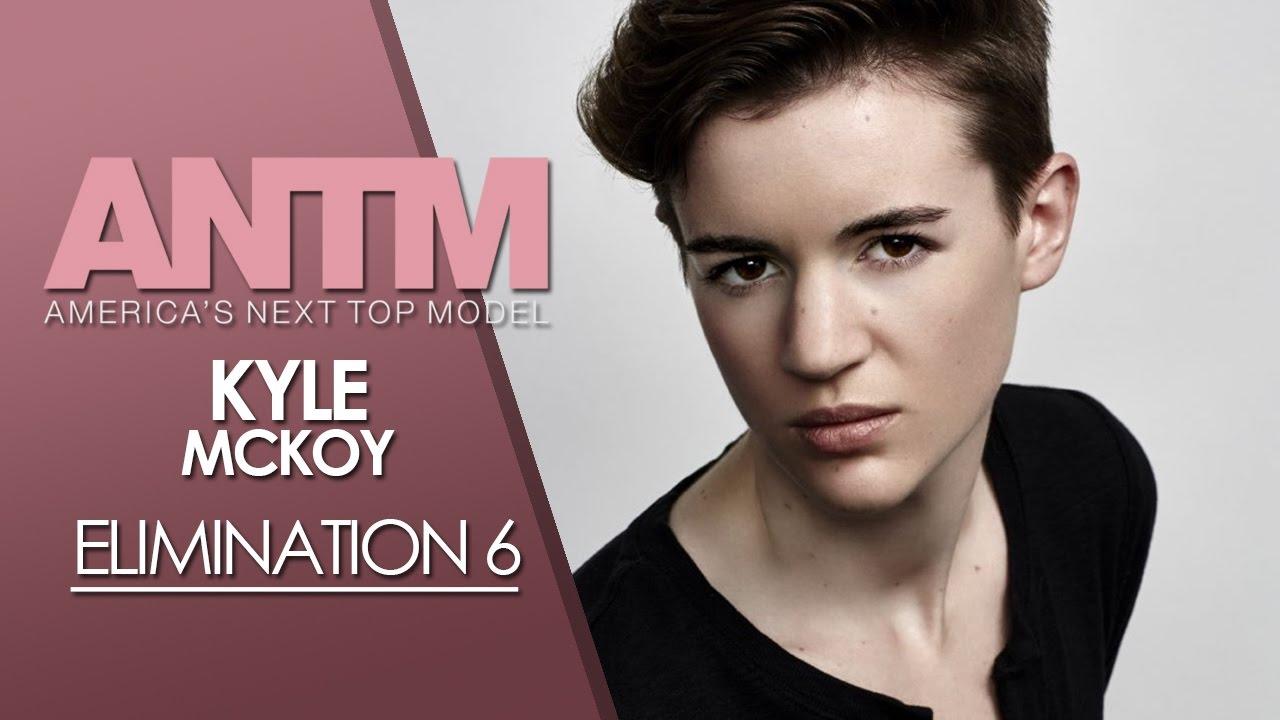 Americas Next Top Model Cycle 23 Elimination 6 Kyle Mckoy Youtube