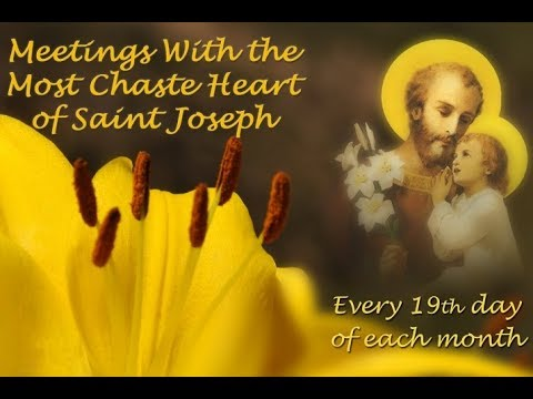 Apparition of the St. Joseph - August 19, 2017
