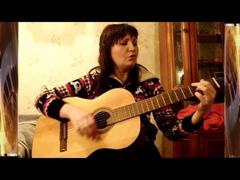 ученица В. Юдиной играет на гитаре и не верит своим рукам