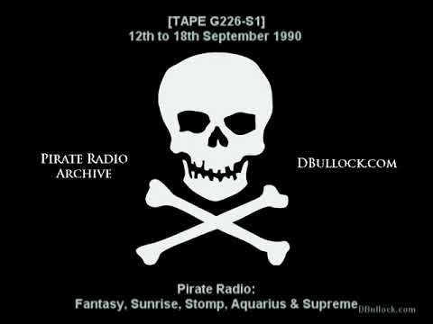 [PG226-S1] Pirate Radio ~ 12-17/09/1990 ~ London & South East