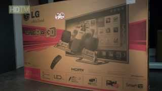 Unboxing: LG 84LM960V (Full HD)