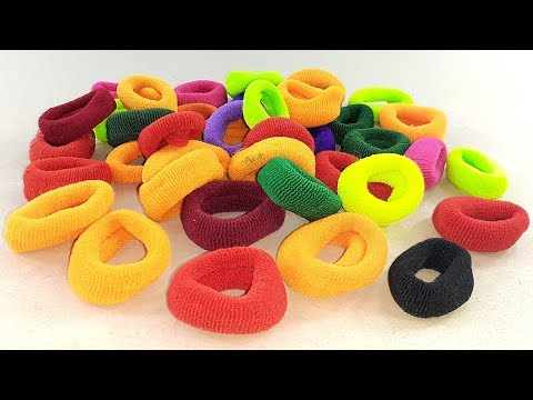 DIY Hair rubber bands craft idea | DIY art and craft | Amazing home decorating idea