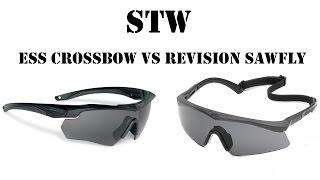 Обзор-сравнение очков ESS Crossbow (Supressor) и Revision Sawfly