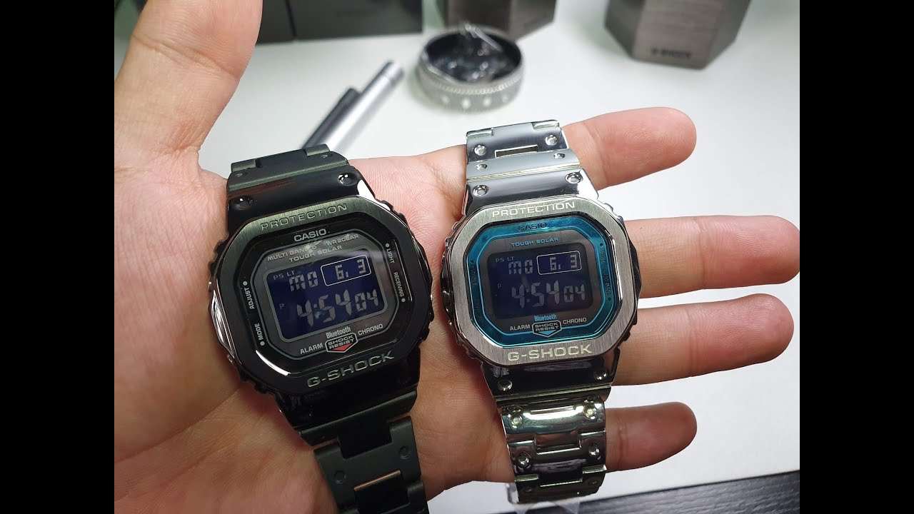 Customizing The Gw B5600 To Steel Band And Bezel Youtube