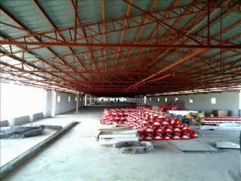 Tunnel Vent Poultry Building Builder Youtube
