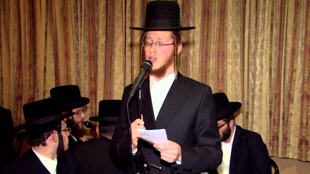 Avrum Mordche Schwartz With Yedidim Choir