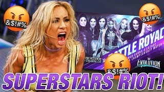 Superstars RIOT Against the Evolution Match! Big Returns on RAW! | Women's Wrestling News and Rumors