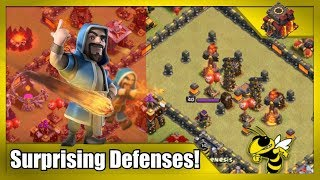 "TH10 Multi-Inferno ""Troll"" Base Defends 5 Attacks! Base-Building Inspiration"