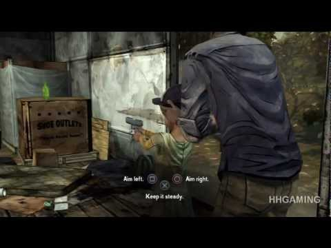 The Walking Dead Game  episode 3 walkthrough no commentary Full Episode HD Gameplay