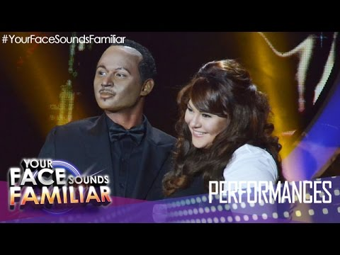Your Face Sounds Familiar: Michael Pangilinan and Karla Estrada as Luther Vandross and Mariah Carey