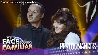 Your Face Sounds Familiar: Michael Pangilinan and Karla Estrada as Luther Vandross and Mariah Carey