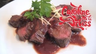 How To Cook Venison With A Plum And Ginger Sauce