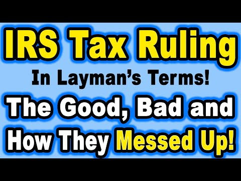 🔵 The New IRS Crypto Tax Ruling In Layman's Terms – The Good, The Bad & How The IRS Messed Up!