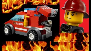 Lego Fire Fire Fire The Lego City Fire Van Gets Made From The Lego City Fire Station