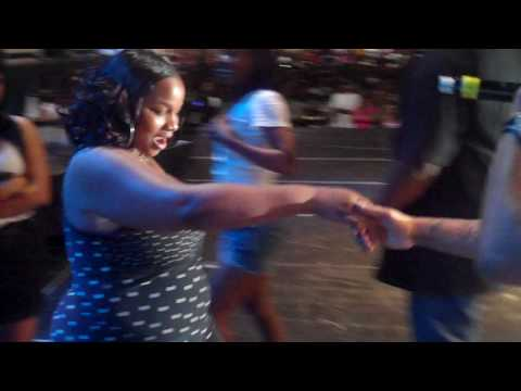 BIG & CRAZY GIRL JUMPS ON PLEASURE P WHILE PERFORMING UNDER IN FRONT OF 15K PEOPLE
