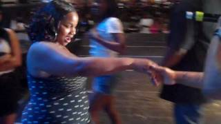 "BIG & CRAZY GIRL JUMPS ON PLEASURE P WHILE PERFORMING ""UNDER"" IN FRONT OF 15K PEOPLE"